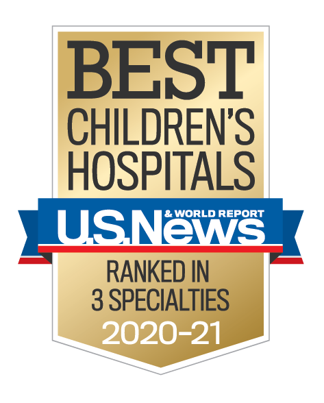 best children's hospital award logo