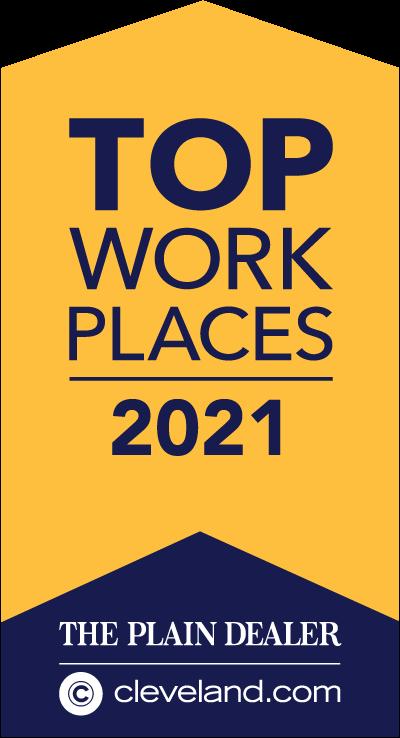 top work placed award logo