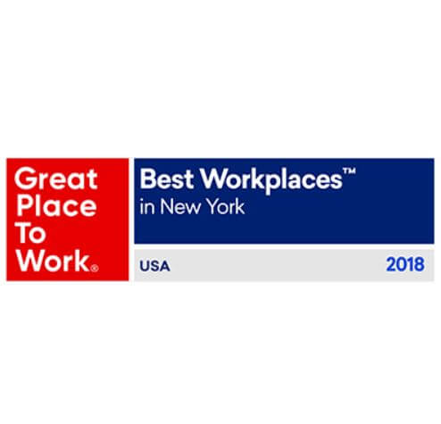 Award recognition nationally and regionally honoring workplace and employees