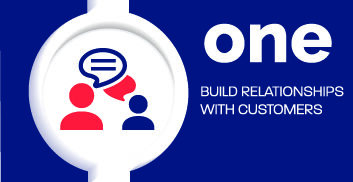 We build relationships with customers and carriers.