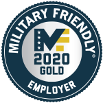 Top Ten Military Friendly Employer Award