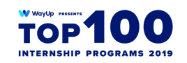 Top 100 internship program 2019 Award
