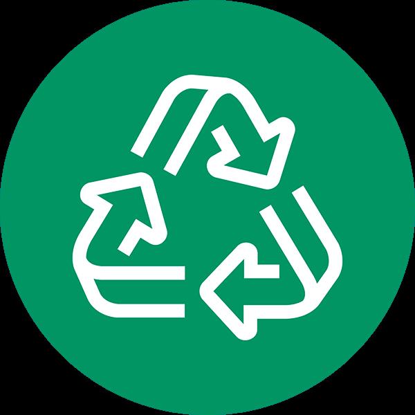 100 Percent Recycled Fiber