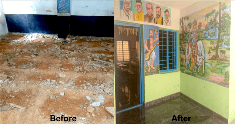 Kampathampalli School Renovation