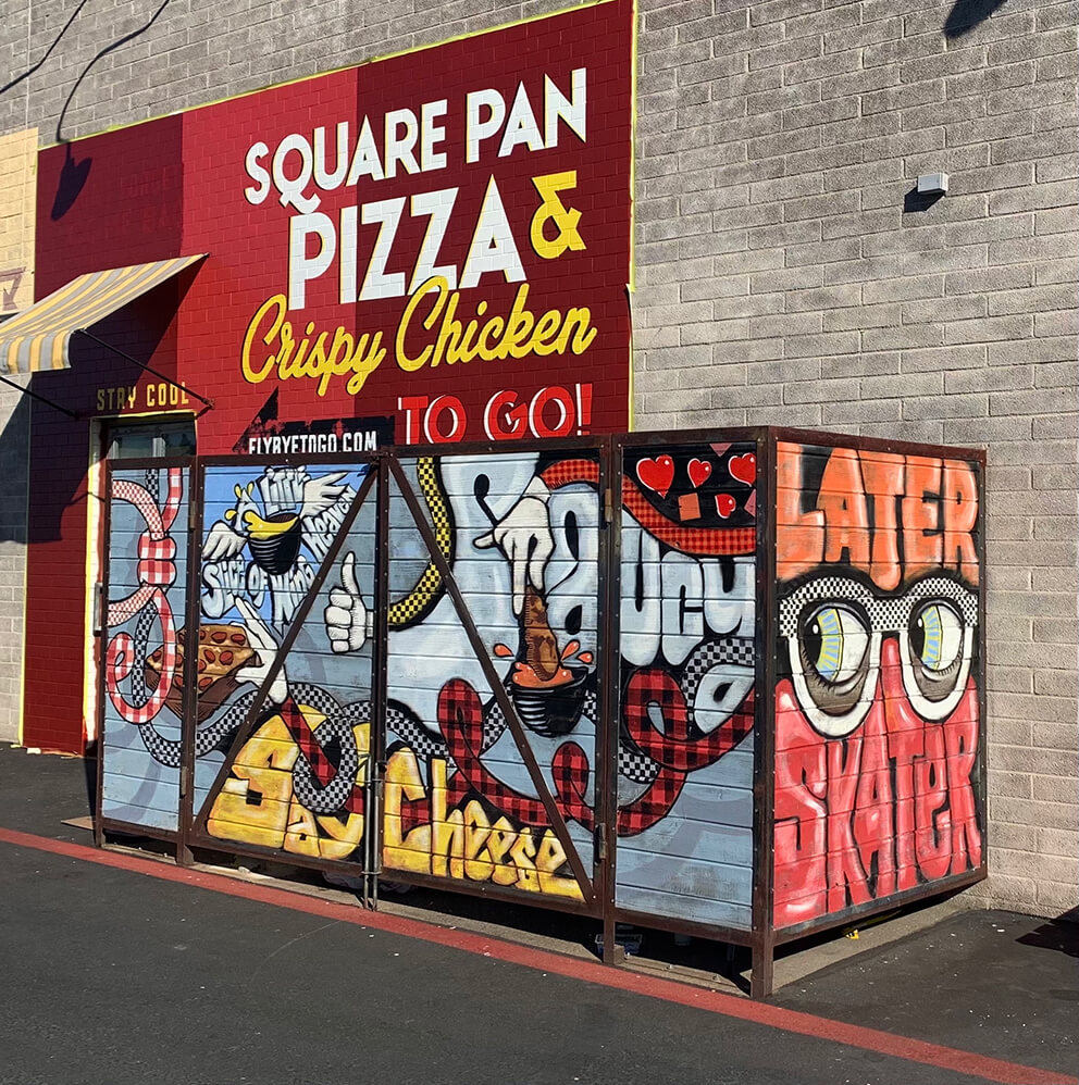 Fly Bye Pizza to go  Phoenix AZ, Central Phoenix