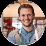 smiling executive chef